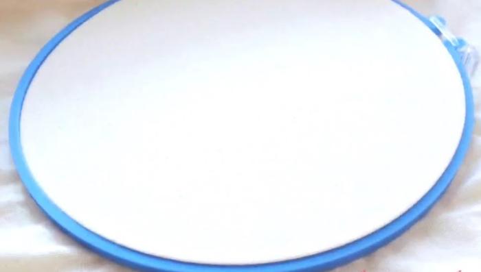 Curso básico de bordado ¿Cómo usar el aro o bastidor para bordado?